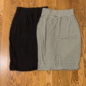 Pack of Two Athleta Casual Skirts